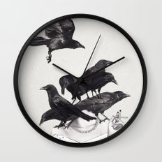 Neither Poor Nor Innocent Wall Clock