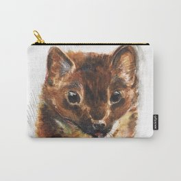 European Pine Marten Carry-All Pouch