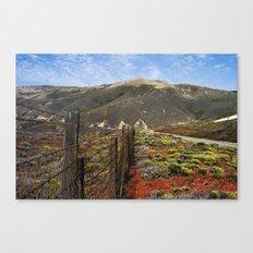 Big Sur Mountains Canvas Print