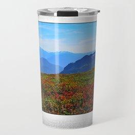ONCE UPON AN ALPINE MEADOW Travel Mug