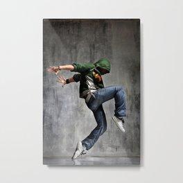 Breakdancer Metal Print