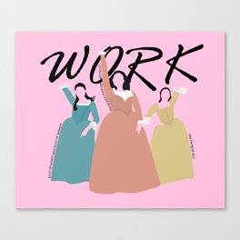 The Schuyler Sisters Canvas Print