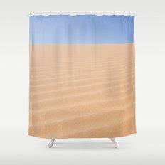 desert ripples Shower Curtain