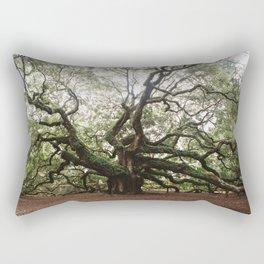The Angel Oak Rectangular Pillow