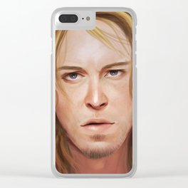 Matt Jason Clear iPhone Case