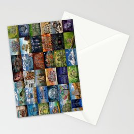 Super Collage - House Stationery Cards
