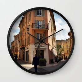Take A Walk On The Wild Side Wall Clock