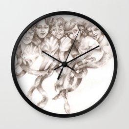 Squid Sisters Wall Clock