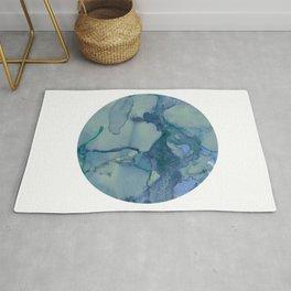 Turquoise Moon Rug