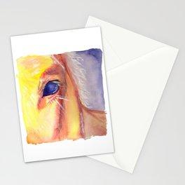 golden horse Stationery Cards