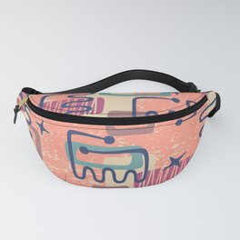 Mid Century Modern Abstract Pattern 951 Fanny Pack
