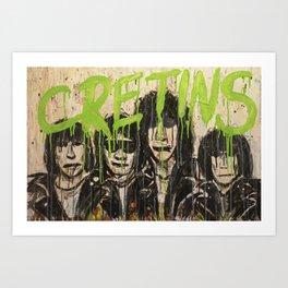 Cretin Hop Art Print