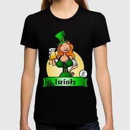 St. Patrick's Day Irish Maiden T-shirt