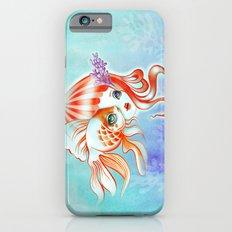 Jellyfish Girl & Goldfish Slim Case iPhone 6s
