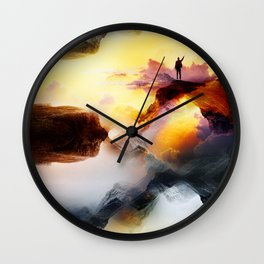 Chaos is a ladder Wall Clock