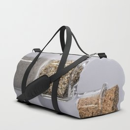 Beach Sand in a bottle Duffle Bag