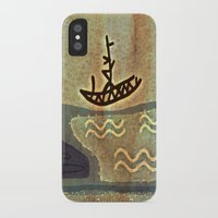 boat iPhone & iPod Cases featuring Boat by Menchulica