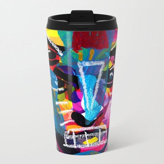 head 001 Metal Travel Mug