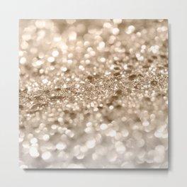 Gold Lady Glitter #2 #shiny #decor #art #society6 Metal Print