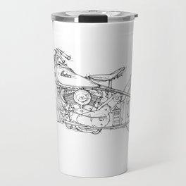 INDIAN CHIEF 1948 original gift for bikers, gift for christmas Travel Mug