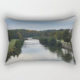 Canal du Midi, Carcassonne, France Rectangular Pillow