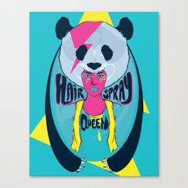 hair spray queen Canvas Print