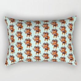 Scissorhands Fox Rectangular Pillow