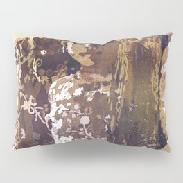 Watercolor painting of girls in floral dresses in Nepal Pillow Sham