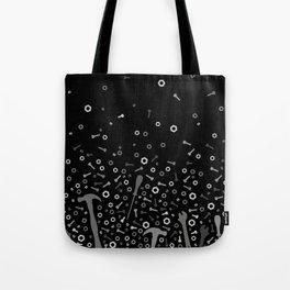 Anti-gravity Tools - grey and black Tote Bag