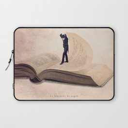 The page turner Laptop Sleeve