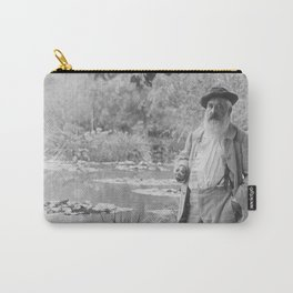 Claude Monet a Giverny Carry-All Pouch
