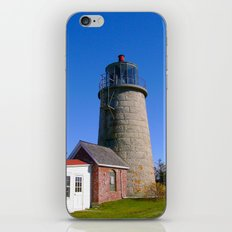 Monhegan Island Lighthouse  iPhone & iPod Skin