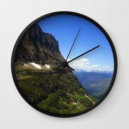 Glacier National Park Wall Clock