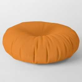 Burnt Orange - solid color Floor Pillow