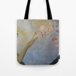 Zeit: A study of origin Tote Bag