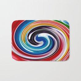 Lollipop Swirls - Rainbow Bath Mat
