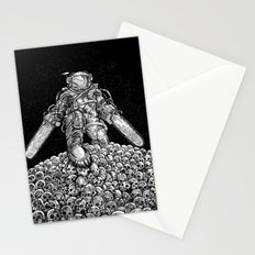 Texas Chainsaw Astronaut: New Moon Stationery Cards