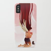 angel wings iPhone & iPod Cases featuring Angel Wings by Kiome-Yasha