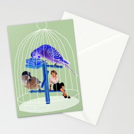 Birdie // Caged Stationery Cards