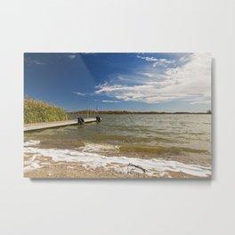 Autumn Lakeshore 1 Metal Print
