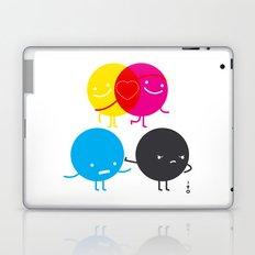 YM love CK hate Laptop & iPad Skin
