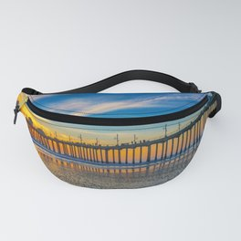 Textured Sand at Sunset Fanny Pack