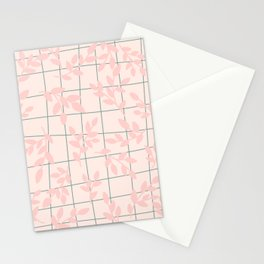 Pastel Plants  Stationery Cards
