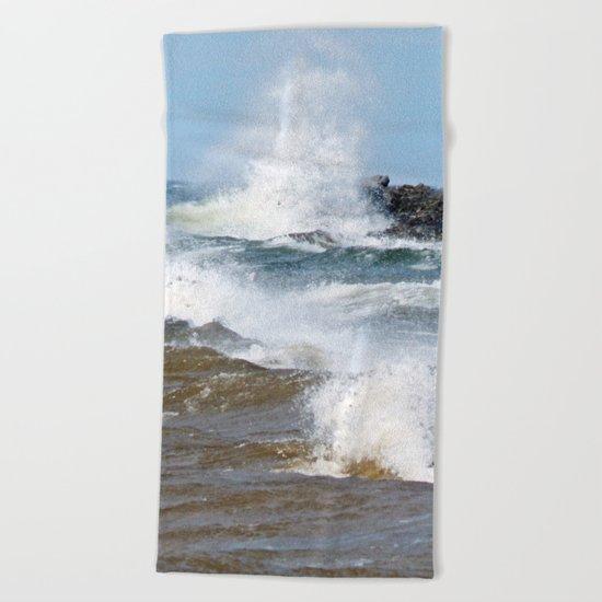 Surf's Spray Beach Towel