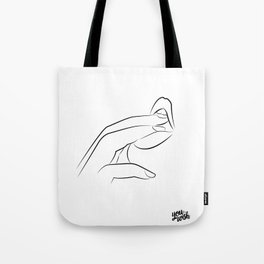 #tasteslikeimabouttostay Tote Bag