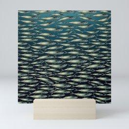 Mackerel At Sea Mini Art Print