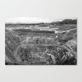 Quarry Canvas Print