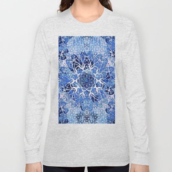 Sapphire Crochet Mandala by ninamay