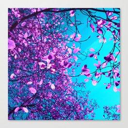 purple tree XXIII Canvas Print