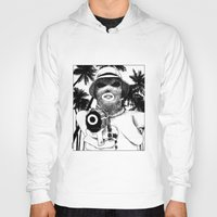 apollonia Hoodies featuring asc 501 - L'implacable (The Destroyer) by From Apollonia with Love